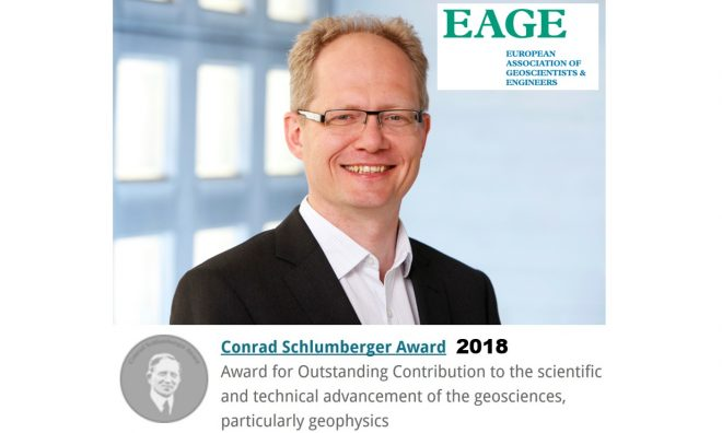 Johan Robertsson to Receive the Prestigious EAGE Conrad Schlumberger Award 2018